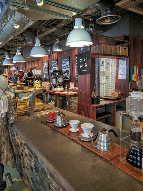 Small Batch Coffee Jubilee St Bar